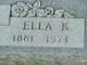 Profile photo:  Ella K <I>Cheek</I> Cheek