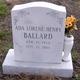 Ada Lorene <I>Henry</I> Ballard