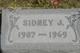 Profile photo:  Sidney Jacob Addison