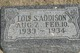 Lois Sarah Addison