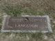 Profile photo:  Annie Lucy <I>Almond</I> Langston