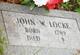 John W Locke