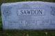 June Esther <I>Badley</I> Sawdon