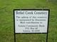 Bethel Creek Cemetery