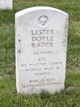 Corp Lester Doyle Rader