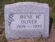 Irene M. <I>Smith</I> Oliver