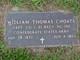 Capt William Thomas Choate