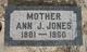 """Ann Jones """"Nancy"""" Jones"""