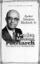 Profile photo:  Booker Taliaferro Blackwell Sr.