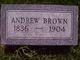 Profile photo:  Andrew Brown