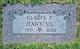 Gladys Pearl <I>Boren</I> Hawkins