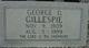 George Daniel Gillespie