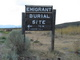 Emigrant Burial Site