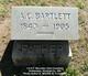 Profile photo:  Abner Crasdel Bartlett