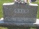 Profile photo:  A. Earl Baer