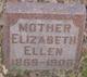 Elizabeth Ellen Baker