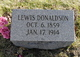 Lewis Donaldson