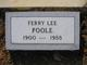 Ferry Lee Poole