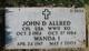Profile photo:  John D Allred