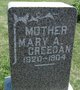 Profile photo:  Mary A Creedan