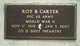 Roy B Carter, Jr