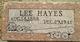 Lee Hayes