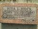 Rita L <I>Hayes</I> Hock
