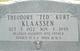 Theodore Kurt <I> </I> Klaassen,