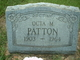 Octa M Patton