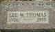 Lee W Thomas