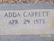 Profile photo:  Adda Garrett
