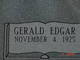 "Profile photo:  Gerald Edgar ""Jerry"" Allen"