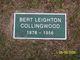 Bert Leighton Collingwood