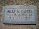 Miles H. Carter