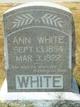 Harriet Ann White