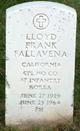 Lloyd Frank Fallavena