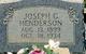 Joseph George Franklin Henderson