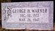 George Henry Warner