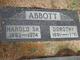 Profile photo:  Harold Gordon Abbott, Sr