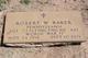 Robert Wilbur Baker