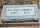 Profile photo:  Ida Jane <I>Bridges</I> Campbell