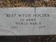 Profile photo:  Bert Wylie Holder