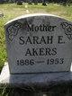 Sarah Elizabeth <I>Kerns</I> Akers