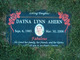 Profile photo:  Dayna Lynn Ahern