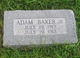 Adam Baker, Jr