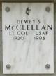 LTC Dewey S. McClellan