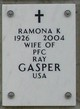 Profile photo:  Ramona Kenneday <I>DeGraffenreid</I> Gasper