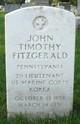 Lieut John Timothy Fitzgerald