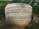 Harriet <I>Claggett</I> Dixon