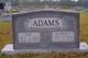 Gladys <I>Taylor</I> Adams